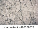 Dry Cracked Earth Texture...