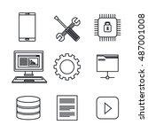 Set Icons Database Center...