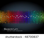 abstract rainbow colored vector ... | Shutterstock .eps vector #48700837