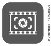 the viewfinder icon. focusing...   Shutterstock . vector #487035808