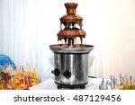 Chocolate Fondue Fountain And...