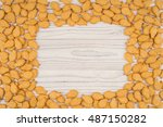 Goldfish Crackers On An Old...