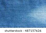 closeup jeans denim texture and ...   Shutterstock . vector #487157626