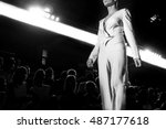 fashion show  a catwalk event ... | Shutterstock . vector #487177618
