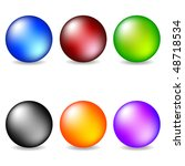 vector collection of color... | Shutterstock .eps vector #48718534