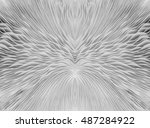 black and white abstract... | Shutterstock . vector #487284922