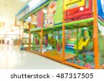 abstract blur playground for... | Shutterstock . vector #487317505