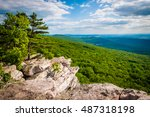 view from annapolis rocks ... | Shutterstock . vector #487318198