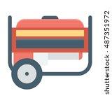 generator vector icon    Shutterstock .eps vector #487351972