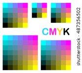 cmyk colors 1 | Shutterstock .eps vector #487356502