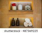 Insided Wall Shelfs With...