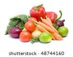 fresh vegetables | Shutterstock . vector #48744160