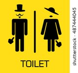 Toilet Sign  Fitting Room Sign...