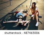 Crash. Two Teenage Girls. One...