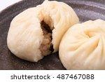 meat bun/mikuman/asian food