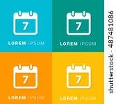 7th calendar four color...