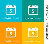 5th calendar four color...