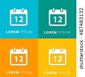 12th calendar four color...