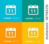 11th calendar four color...