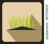 young sprout seedlings icon in... | Shutterstock .eps vector #487510015