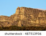 A Side View Of Table Mountain...
