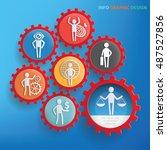 character businessman design...   Shutterstock .eps vector #487527856