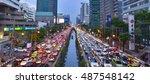 Bangkok   August 9  Traffic Ja...