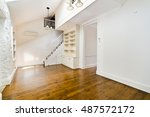 empty room  with windows | Shutterstock . vector #487572172