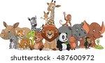 vector illustration set of... | Shutterstock .eps vector #487600972