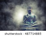lord buddha statue at colombo ... | Shutterstock . vector #487714885