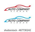 auto car logo template | Shutterstock .eps vector #487730242
