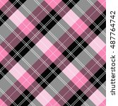 plaid   tartan pattern | Shutterstock .eps vector #487764742