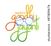 Beautiful Typography Of Gandhi...