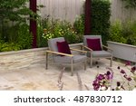 Relaxing Area In A Garden