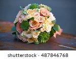 flowers  | Shutterstock . vector #487846768
