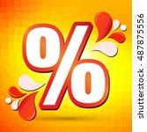 discount. | Shutterstock .eps vector #487875556