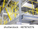 the image of a warehouse... | Shutterstock . vector #487876576