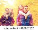 love  friendship  family and... | Shutterstock . vector #487887796