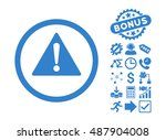 warning pictograph with bonus...