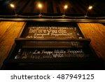 beer night at nakhon sawan... | Shutterstock . vector #487949125