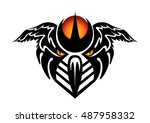 abstract color tattoo | Shutterstock .eps vector #487958332