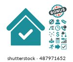 valid house icon with bonus...