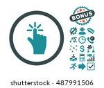 click icon with bonus clip art. ...