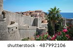 Dubrovnik City Walls And Old...