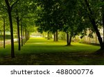 green park tree outdoor | Shutterstock . vector #488000776