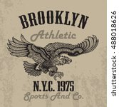 Old Style Eagle Sport Tee Shir...