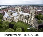 The Big Cathedral Of York...