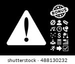 warning error pictograph with...