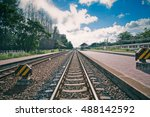 railroad   Shutterstock . vector #488142592