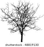 Tree Silhouette Free Vector Art - (11049 Free Downloads)